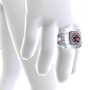 Raptors Championship Ring