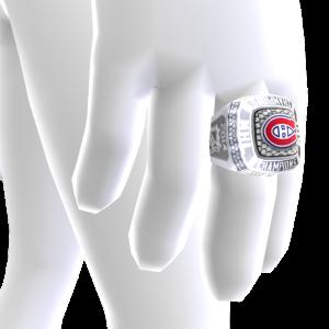 Canadiens Championship Ring