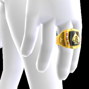 Black Spades Championship Ring