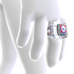 76ers Championship Ring