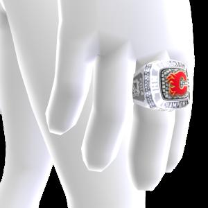 Flames Championship Ring