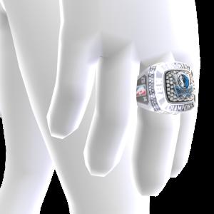 Mavericks Championship Ring