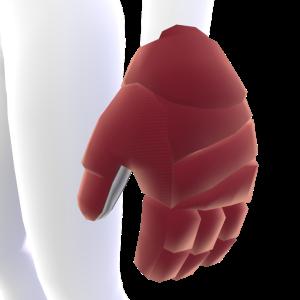 Sedona Red Hockey Gloves