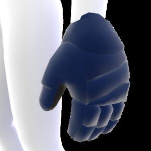 Gulf Blue Hockey Gloves