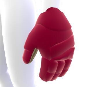 Boston College Hockey Gloves