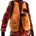 Duck Hunter Vest- Flannel