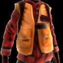 Duck Hunter Vest- Flannel