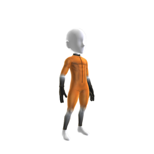 Speed Skating Suit - Orange