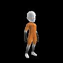 Speed Skating Suit - Orange