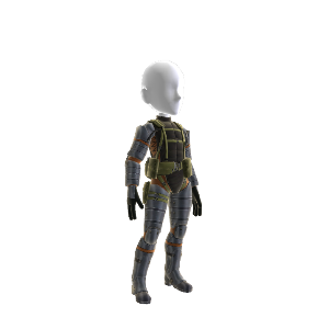 MGSPW Naked Snake Outfit