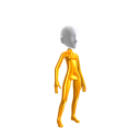 Gold Body Suit