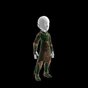 Daggerdale:  Tiefling Wizard Outfit  Male