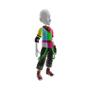Look del equipo de Glitch