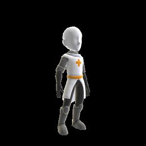 Orange Knight Tunic