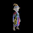 Bejeweled Wizard Robe Costume