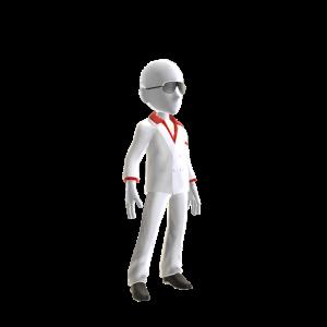 White Miami Suit