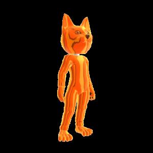 Catsuit Orange Chrome