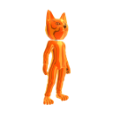 Catsuit Orange Chrome