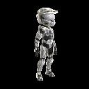 Halo Spartan Armor - Silver