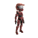 Halo Spartan Armor - Red