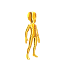 Spandex Suit - Gold