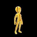 Spandex Suit - Gold