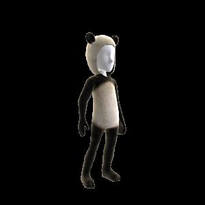 Pandabär-Anzug