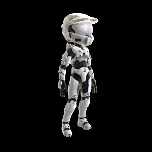 Halo Spartan Armor - White