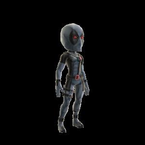 Costume Uncanny X-Force de Deadpool