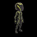 Traje de jugador - Amarillo