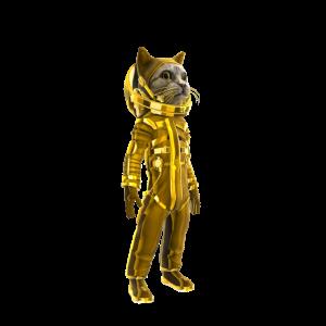 Bling Catstronaut
