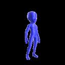 Spandex Suit - Blue