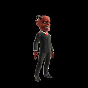 Corporate Devil Costume