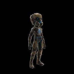 C.E.L.L. Operative Suit Blue