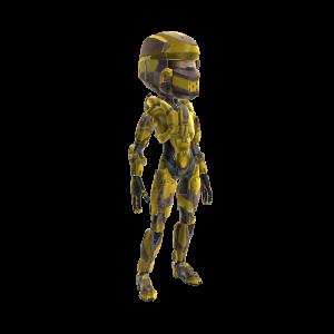 Warrior Armor - Yellow