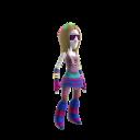 EDM Raver Girl