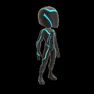 Spieler-Outfit – Blau