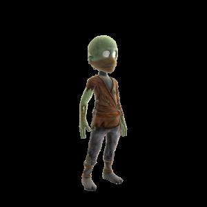 Monk Zombie Costume
