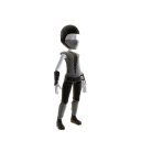Retro Ninja Outfit - Grey