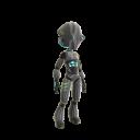 Disfraz de robot moderno