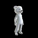 Eisbärenkostüm