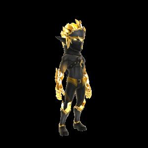 Gold Drow Assassin