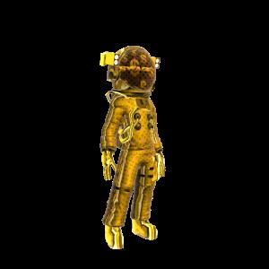 Gold Astronaut - Next Level