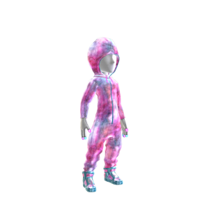 Galaxy Hooded Onezie