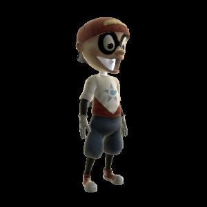 Captain Baseball Bat Boy Outfit