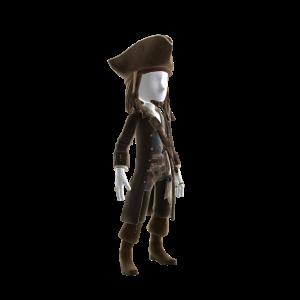 Costume du capitaine Jack Sparrow