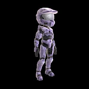Halo Spartan Armor - Lavender