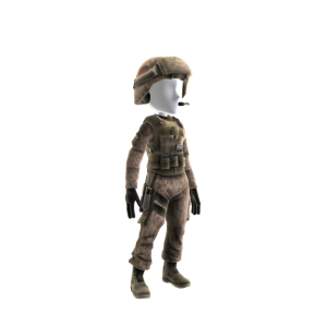 """Rifleman Outfit - """"Kirby"""""""