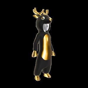 Bling Reindeer Onesie