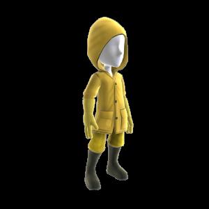 Pantalon et manteau de pluie